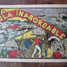 Tebeos: ALBUMES PREFERIDOS DE LA JUVENTUD NUMERO 5, LA ISLA INABORDABLE , HISPANOAMERICANA 1942. Lote 32178307