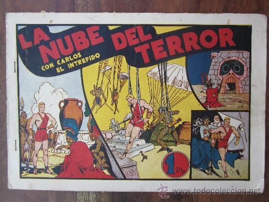 CARLOS EL INTREPIDO - LA NUBE DEL TERROR , HISPANO AMERICANA (Tebeos y Comics - Hispano Americana - Carlos el Intrépido)
