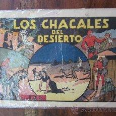 Tebeos: HOMBRE ENMASCARADO , LOS CHACALES DEL DESIERTO , HISPANO AMERICANA. Lote 32178765
