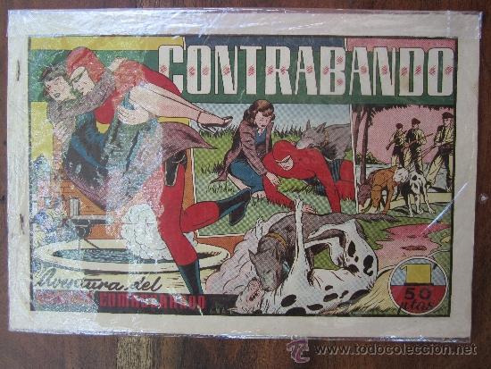 HOMBRE ENMASCARADO , CONTRABANDO , HISPANO AMERICANA (Tebeos y Comics - Hispano Americana - Hombre Enmascarado)