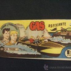 BDs: JORGE Y FERNANDO - Nº 88 - GAS ASFIXIANTE - HISPANO AMERICANA - . Lote 32228945