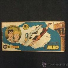 Tebeos - JORGE Y FERNANDO - Nº 110 - EL ASTILLERO DEL FARO - HISPANO AMERICANA - - 32292359