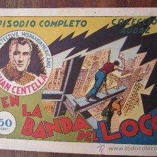 Tebeos: JUAN CENTELLA - EN LA BANDA DEL LOCO , HISPANO AMERICANA - MUY BUENA CONSRTVACION. Lote 32326328