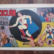 Tebeos: CICLON EL SUPERHOMBRE - CICLON CONTRA HERCULES , NUMERO 15 - HISPANO AMERICANA 1940 - ORIGINAL ,. Lote 32347086