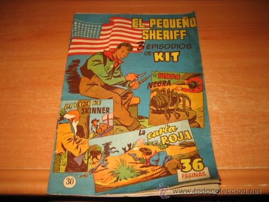EL PEQUEÑO SHERIFF Nº 30 ORIGINAL ED. HISPANOAMERICANA (Tebeos y Comics - Hispano Americana - Otros)