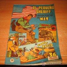 Tebeos: EL PEQUEÑO SHERIFF Nº 30 ORIGINAL ED. HISPANOAMERICANA . Lote 32455366