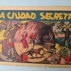 Tebeos: ALBUMES PREFERIDOS DE LA JUVENTUD, N. 10 , LA CIUDAD SECRETA , HISPANO AMERICANA. Lote 32464745