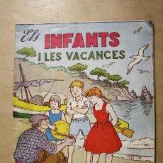Tebeos: ELS INFANTS I LES VACANCES NUMERO 4 - HISPANO AMERICANA AÑOS 50. Lote 32529351