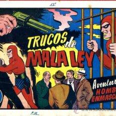 Tebeos: EL HOMBRE ENMASCARADO, TRUCOS DE MALA LEY , HISPANO AMERICANA , ORIGINAL, H28. Lote 32586105