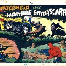 Tebeos: EL HOMBRE ENMASCARADO, LA INOCENCIA DEL HOMBRE ENMASCARADO , HISPANO AMERICANA , ORIGINAL, H29. Lote 32586111