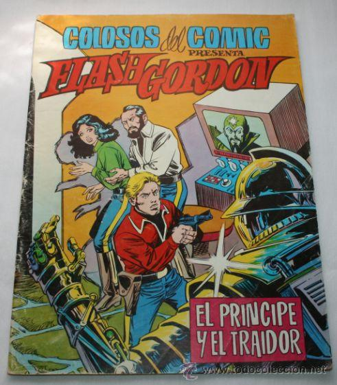 COMIC - FLASH GORDON Nº 5 - COLOSOS DEL COMIC Nº 39 - KING FEATURES 1979 (Tebeos y Comics - Hispano Americana - Flash Gordon)