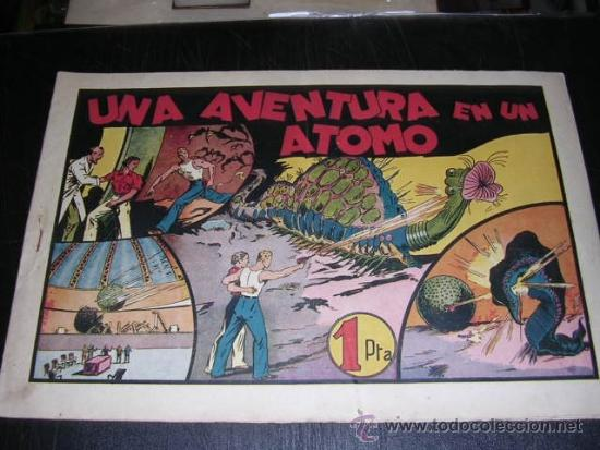 CARLOS EL INTREPIDO UNA AVENTURA EN UN ATOMO NUM 13 - EDT HISPANO AMERICANA, SEÑALES DE USO (Tebeos y Comics - Hispano Americana - Carlos el Intrépido)