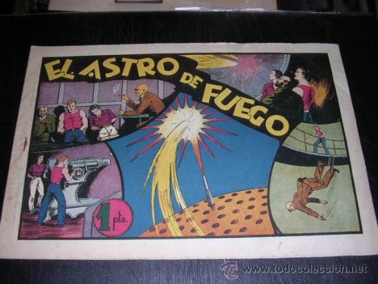 CARLOS EL INTREPIDO EL ASTRO DE FUEGO NUM 15 - EDT HISPANO AMERICANA, SEÑALES DE USO (Tebeos y Comics - Hispano Americana - Carlos el Intrépido)