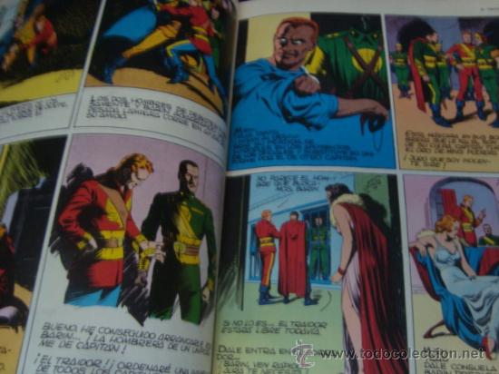Tebeos: heroes del comic, flash gordon, tomo 1 , el tirano de mongo, en el reino de los hielos, los tecnicos - Foto 10 - 32748364