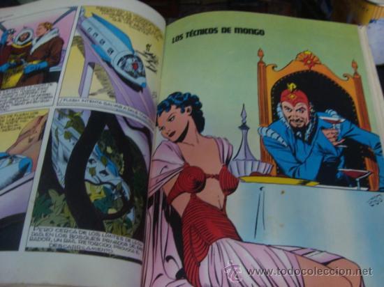 Tebeos: heroes del comic, flash gordon, tomo 1 , el tirano de mongo, en el reino de los hielos, los tecnicos - Foto 9 - 32748364