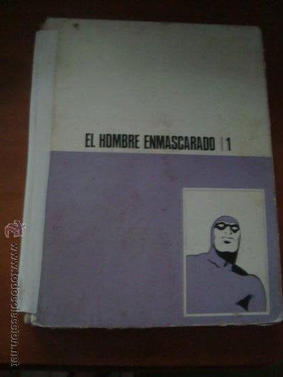 EL HOMBRE ENMASCARADO TOMO 1 1971 EDICIONES BURU LAN . 12 EPISODIOS, (Tebeos y Comics - Hispano Americana - Hombre Enmascarado)