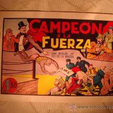 Tebeos: ANTIGUO COMIC ORIGINAL MERLIN EL REY DE LA MAGIA EN (CAMPEON A LA FUERZA) , ANOS 40. Lote 32819309