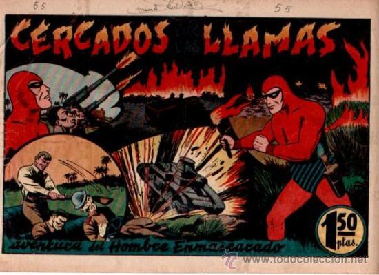 EL HOMBRE ENMASCARADO (H.AMERICANA) Nº 55 (Tebeos y Comics - Hispano Americana - Hombre Enmascarado)