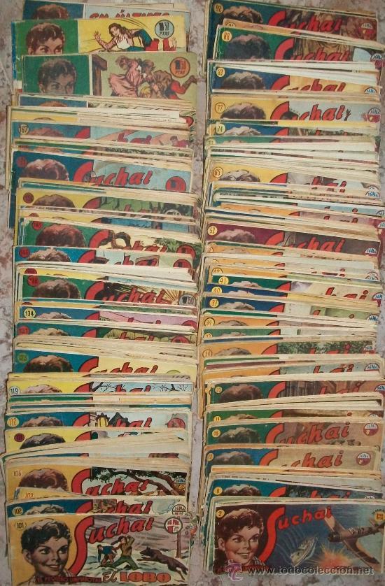 SUCHAI (H.AMERICANA) LOTE DE 173 (Tebeos y Comics - Hispano Americana - Suchai)