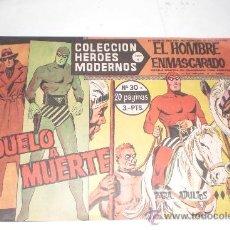 Tebeos: 1958 EL HOMBRE ENMASCARADO NUMERO 30 A - COLECCION HEROES MODERNOS. Lote 33565573