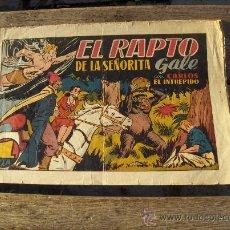 Tebeos: CARLOS EL INTRÉPIDO Nº 12. HISPANOAMERICANA 1942. MUY DIFÍCIL!!!!!!!. Lote 33713665