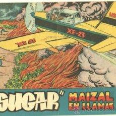 Tebeos: AGENTE SECRETO - SUGAR Nº 46 EDI. HISPANO AMERICANA 1958 - ORIGINAL, MARTINEZ OSETE DIBUJO. Lote 33958641