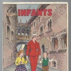 Tebeos: ELS INFANTS Nº 3 HISPANO AMERICANA EDICIONES EN CATALAN 1957. Lote 34067625