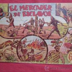 Tebeos: JORGE Y FERNANDO , EL MERCADER DE ESCLAVOS , PRIMERA EDICION 1940 , HISPANO AMERICANA. Lote 34143396
