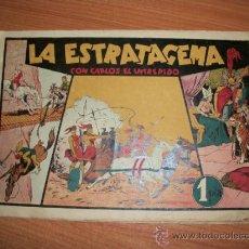 Tebeos: CARLOS EL INTREPIDO Nº 9 LA ESTRATAGEMA ORIGINAL AÑOS 40 . Lote 34161794