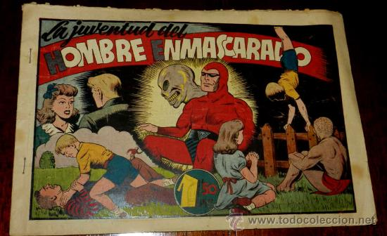 AVENTURA DEL HOMBRE ENMASCARADO. LA JUVENTUD DEL HOMBRE ENMASCARADO. EDICIONES HISPANO AMERICANA, GR (Tebeos y Comics - Hispano Americana - Hombre Enmascarado)