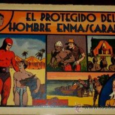 Tebeos: EL PROTEGIDO DEL HOMBRE ENMASCARADO, EDT, H. AMERICANA, EXCELENTE ESTADO DE CONSERVACION, GRANDE, MI. Lote 34304560