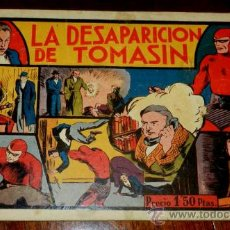 Tebeos: EL HOMBRE ENMASCARADO, LA DESAPARICION DE TOMASIN, EDT, H.AMERICANA, CONTRAPORTADA CON DESPERFECTOSY. Lote 34304687