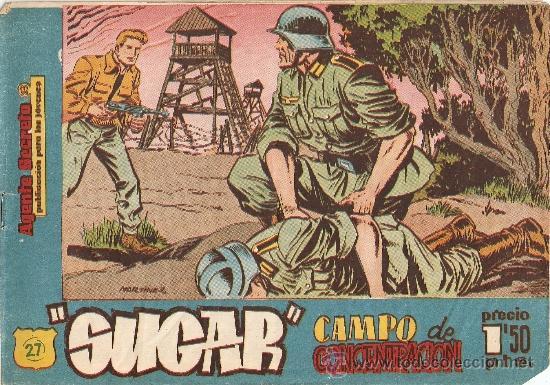 SUGAR, AÑO 1.960. TENGO LOS, Nº 27- 42 - 61. ORIGINALES, DIBUJANTE MARTINEZ. (Tebeos y Comics - Hispano Americana - Otros)