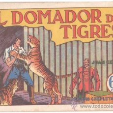 Tebeos: JUAN CENTELLA - EL DOMADOR DE TIGRES - ORIGINAL HISPANO AMERICANA AÑOS 40. Lote 34745812