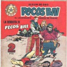 PECOS BILL ORIGINAL Nº 11 HISPANO AMERICANA 1951