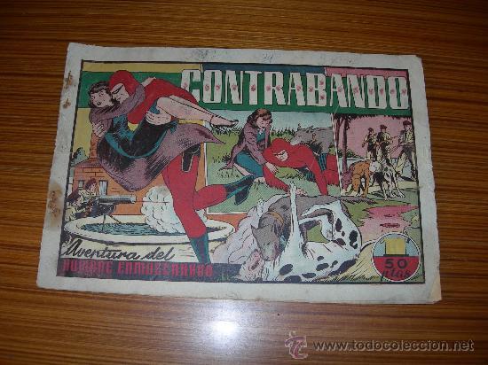 HOMBRE ENMASCARADO Nº CONTRABANDO DE HISPANO AMERICANA (Tebeos y Comics - Hispano Americana - Hombre Enmascarado)