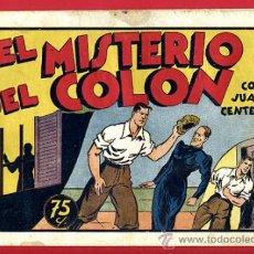 Tebeos: JUAN CENTELLA, EL MISTERIO DEL COLON, 75 CTS., ORIGINAL, J1. Lote 35313882