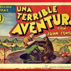 Tebeos: JUAN CENTELLA, UNA TERRIBLE AVENTURA , 60 CTS., ORIGINAL, J3. Lote 35313908