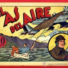 Tebeos: JUAN CENTELLA, EL AS DEL AIRE , 60 CTS., ORIGINAL, J4. Lote 35314028