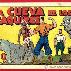 Tebeos: JUAN CENTELLA, LA CUEVA DE LOS FAQUIRES , 60 CTS., ORIGINAL, J5. Lote 35314042