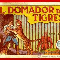 Tebeos: JUAN CENTELLA, EL DOMADOR DE TIGRES , 60 CTS., ORIGINAL, J9. Lote 35314112