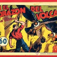 Tebeos: JUAN CENTELLA, EN EL CORAZON DEL VOLCAN , 60 CTS., ORIGINAL, J10. Lote 35314125