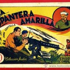 Tebeos: JUAN CENTELLA, LA PANTERA AMARILLA , 60 CTS., ORIGINAL, J12. Lote 35314165