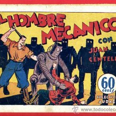Tebeos: JUAN CENTELLA, EL HOMBRE MECANICO , 60 CTS., ORIGINAL, J15. Lote 35314213