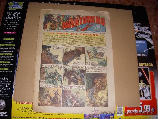 AVENTURERO Nº 79, EDITORIAL HISPANO AMERICANA (Tebeos y Comics - Hispano Americana - Aventurero)