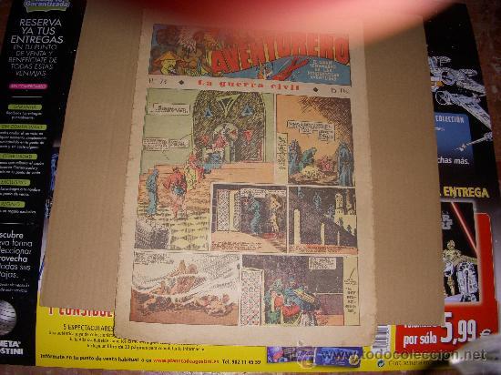 AVENTURERO Nº 73, EDITORIAL HISPANO AMERICANA (Tebeos y Comics - Hispano Americana - Aventurero)