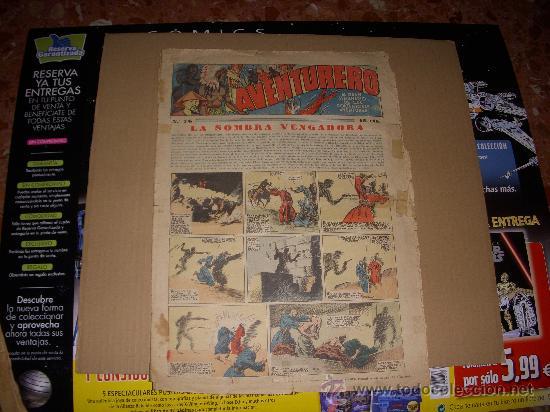 AVENTURERO Nº 76, EDITORIAL HISPANO AMERICANA (Tebeos y Comics - Hispano Americana - Aventurero)