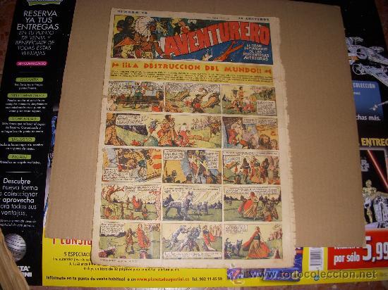 AVENTURERO Nº 20, EDITORIAL HISPANO AMERICANA (Tebeos y Comics - Hispano Americana - Aventurero)