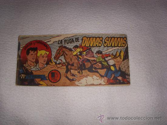 JORGE Y FERNANDO Nº 71, EDITORIAL HISPANO AMERICANA (Tebeos y Comics - Hispano Americana - Jorge y Fernando)