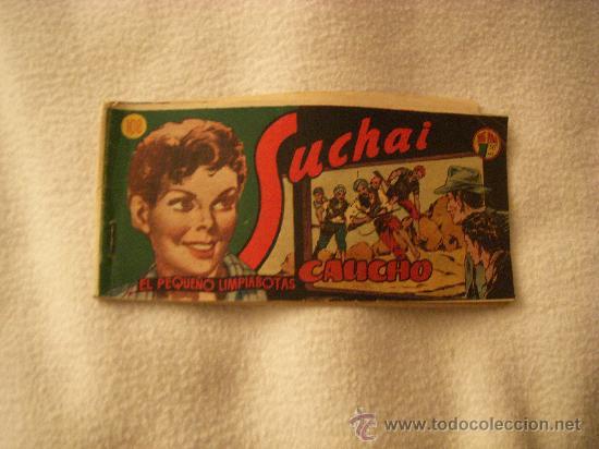 SUCHAI EL PEQUEÑO LIMPIABOTAS Nº 108, EDITORIAL HISPANO AMERICANA (Tebeos y Comics - Hispano Americana - Suchai)
